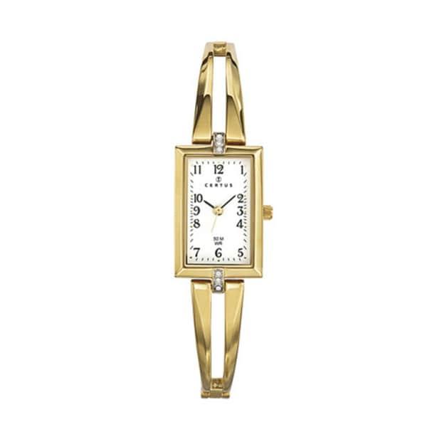 Certus Paris Women's gold-tone Brass Crystal Watch