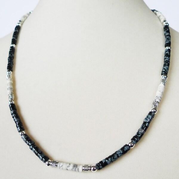 """'Arapahoe' 19"""" Men's Necklace"""