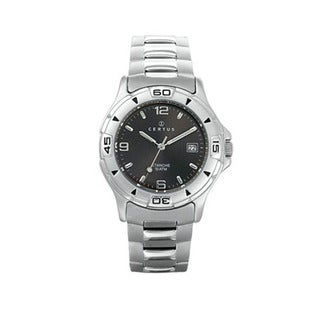 Certus Paris Men's Stainless Steel Date Arabic Numeral Watch