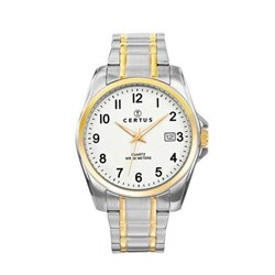 Certus Paris Men's Two-tone Stainless Steel Date Watch