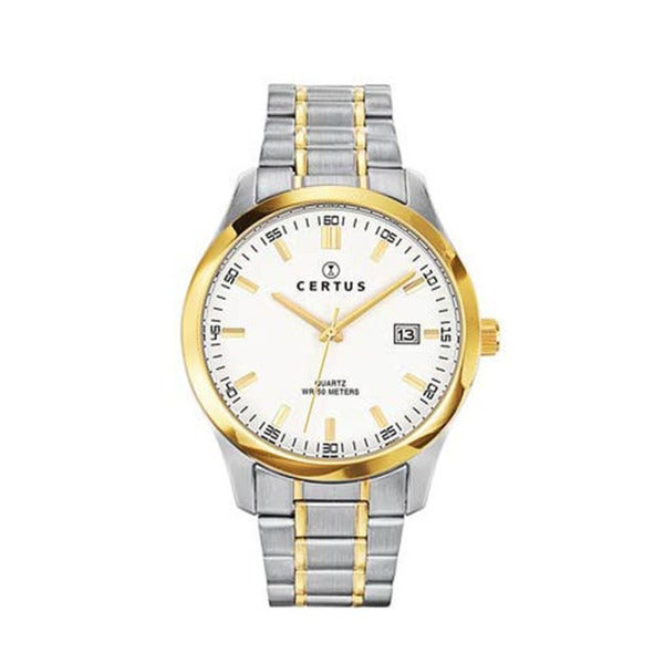 Certus Paris Men's Two-Tone Stainless-Steel Date Quartz Watch