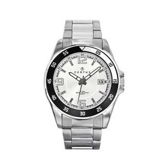 Certus Paris Stainless Steel Men's Silver Dial Luminous Hands Watch