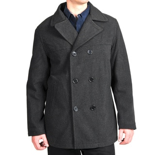 Excelled Men's Double Breasted Coat