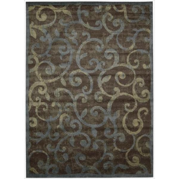 Nourison Expressions Multicolor Scroll Rug - 9'6 x 13'6