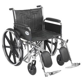 Sentra EC Heavy Duty Wheelchair with Riggings