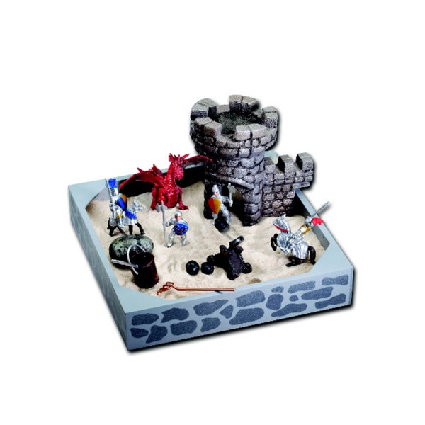 Be Good Company Knights and Dragons My Little Sandbox Play Set