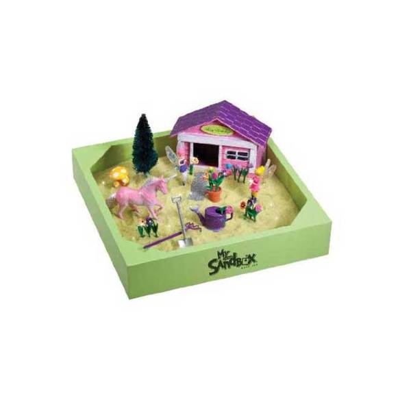 Be Good Company Fairy Garden My Little Sandbox Play Set