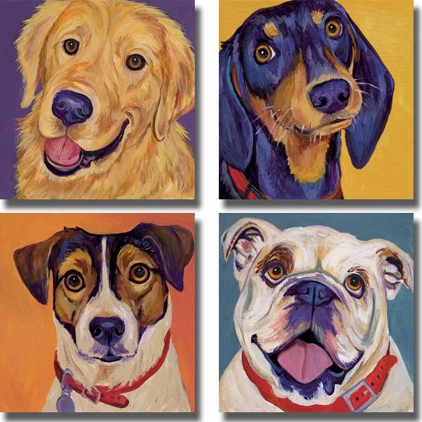 Shop Kellee Beaudry Dog Portrait Collection 4 Piece