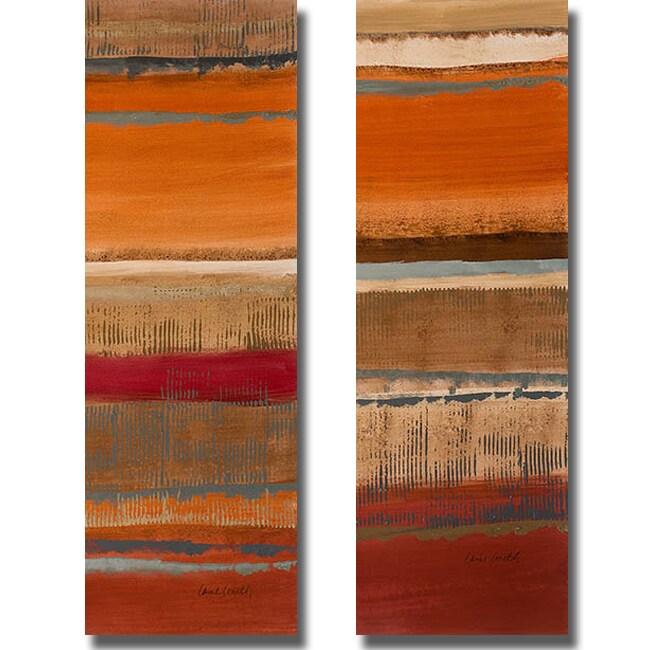 Lanie Loreth 'Journey I and II' 2-piece Canvas Art Set