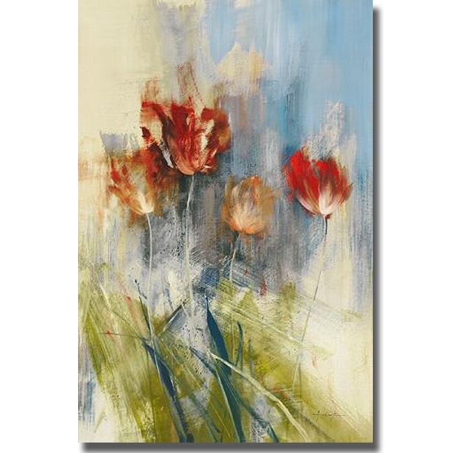 Simon Addyman 'Tulips' Canvas Art