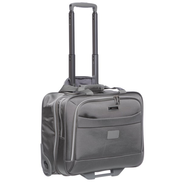 Delsey Helium Pilot Trolley Carry On Tote