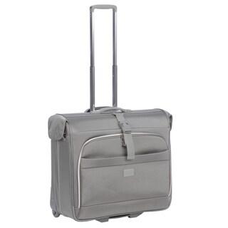 Delsey Helium Pilot Rolling Garment Bag Upright
