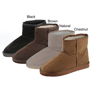 I-Comfort Women's 'Cupcake' Micro-suede Ankle Boots