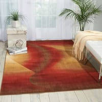 Nourison Radiant Arts Ruby Rug