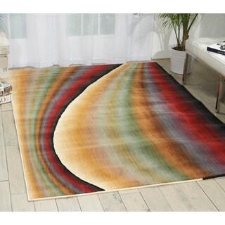 Nourison Radiant Arts Rainbow Rug