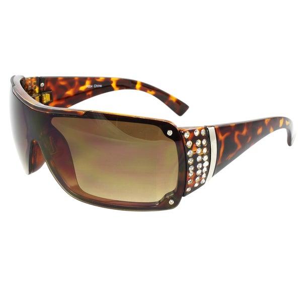 Women's Rimless Shield Sunglasses