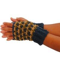 Handmade Popcorn Knit Handwarmer (Nepal)