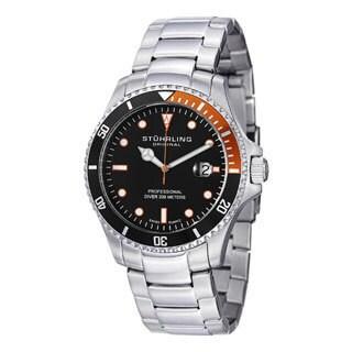 Stuhrling Original Men's Regatta Elite Stainless Steel Bracelet Watch