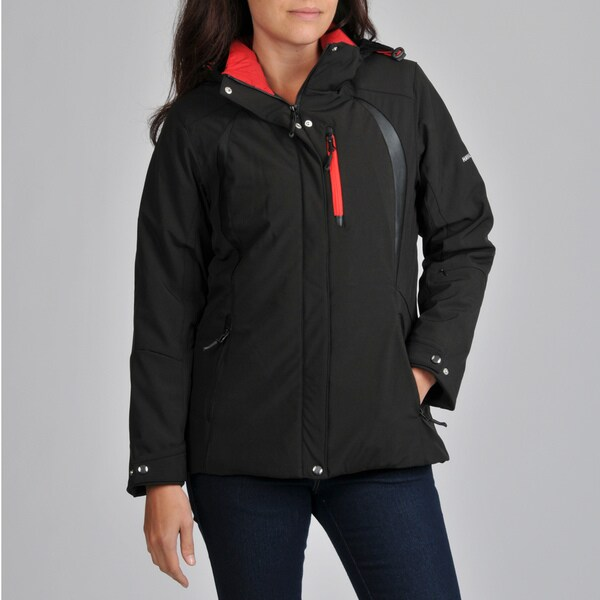 Hawke & Co Women's Hooded Active Jacket