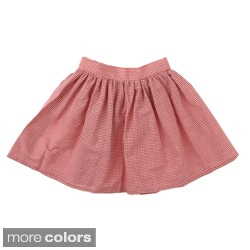 American Apparel Girls' Full Woven Mini Skirt