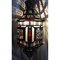 Fine Art Hand Made Chandelier (Morocco)