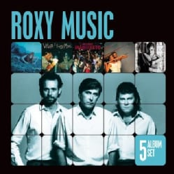 ROXY MUSIC - 5 ALBUM SET