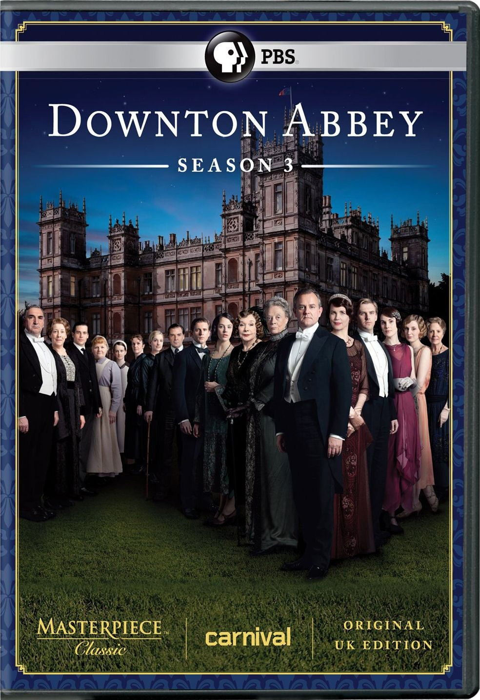 Masterpiece Classic: Downton Abbey: Season 3 (DVD) - Thumbnail 0