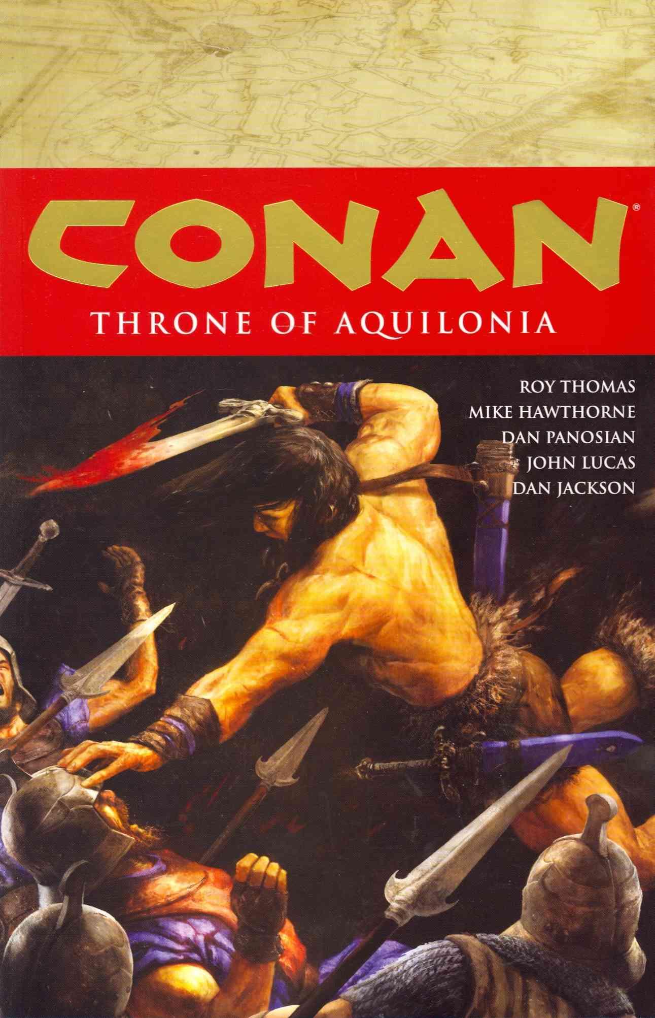 Conan 12: Throne of Aquilonia (Paperback)