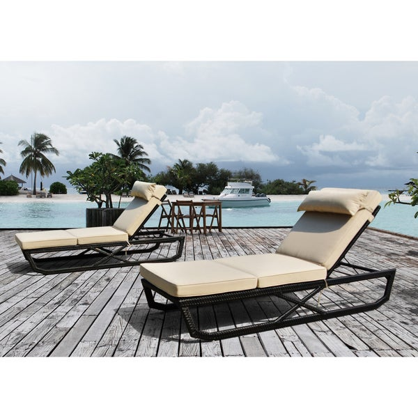 Mateo Chaise Lounge (Set of 2) by Sirio