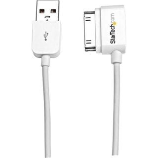 StarTech.com 2m (6 ft) Long Left Angle Apple® 30-pin Dock Connect