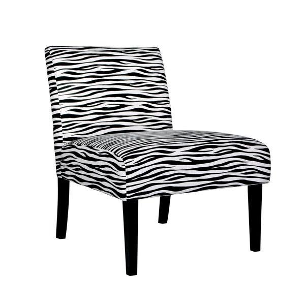 Portfolio Niles Zebra Animal Print Chair