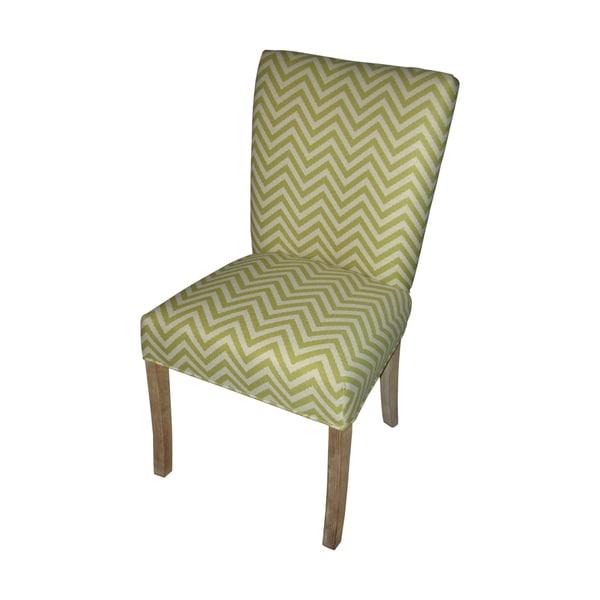 Julia Ziggi Citron Fan Back Chairs (Set of 2)