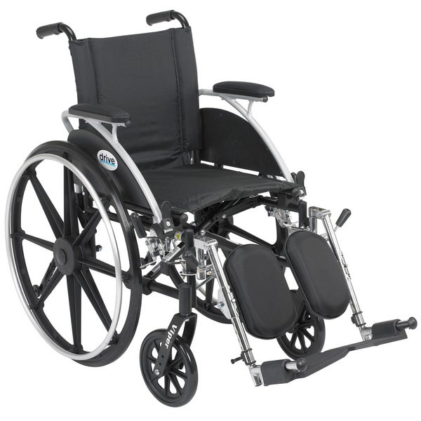 Viper Wheelchair with Flip-back Desk Arms and Front Riggings