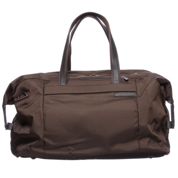 Briggs & Riley '256 Baseline' Chocolate Large 24-inch Weekender Duffel Bag