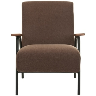 Safavieh Mid-Century Brown Club Chair