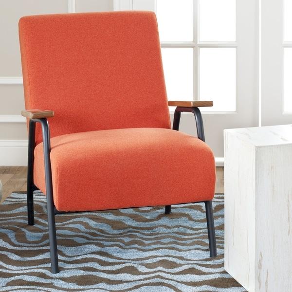 Safavieh Retro Orange Club Chair