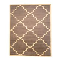 Herat Oriental Indo Hand-tufted Tibetan Wool Rug (8' x 10') - 8' x 10'