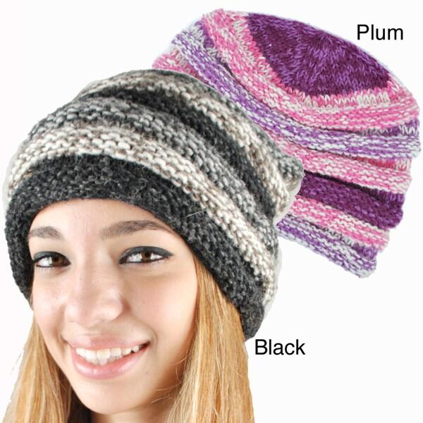 Layered Woolen Hat (Nepal)