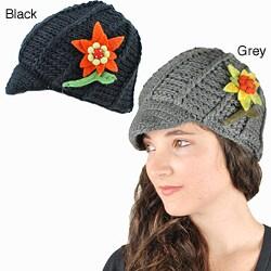 Daisy Newsboy Hat (Nepal)