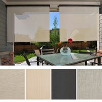 Keystone Fabrics Energy Saving Cord Operated Outdoor Solar Shade - 120 in w x 96 in l
