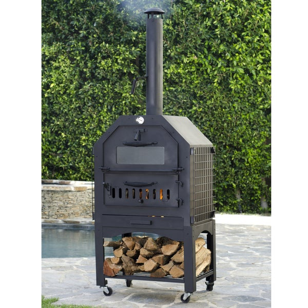 Enformo Wood Fired Pizza Oven and Smoker