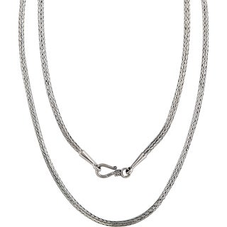 Handmade Bali .925 Sterling Silver Traditional Necklace (Indonesia)