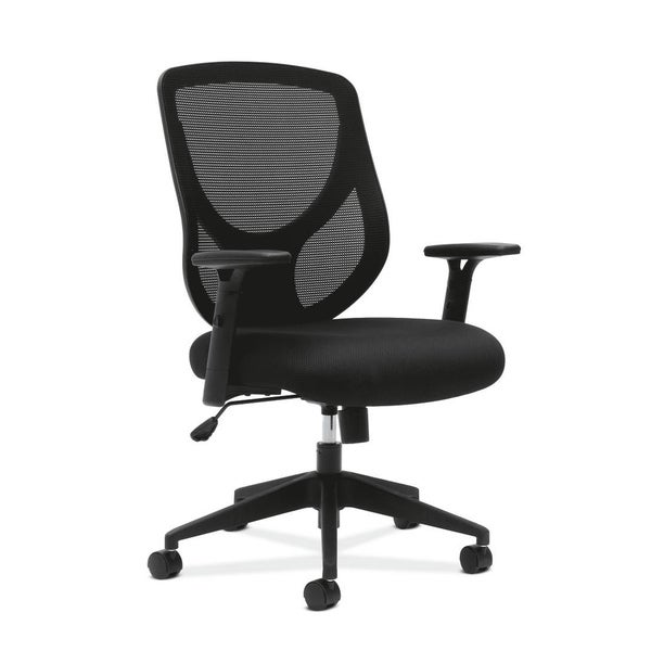 basyx by HON Black Mid-Back Work Chair