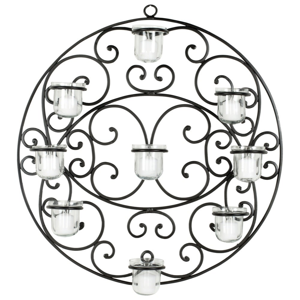 Safavieh Circ Candle Holder Wall Sconce
