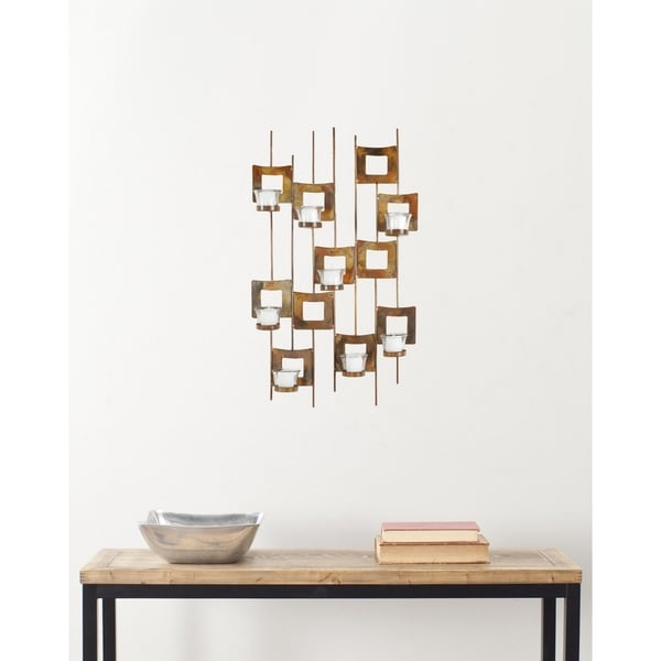 Safavieh Deco Candle Holder Iron Wall Sconce Free