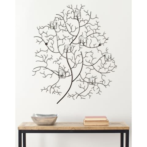 """Safavieh Lighting Tree-Inspired Candle Holder Wall Sconce - 33.8"""" x 3.5"""" x 33.8"""""""