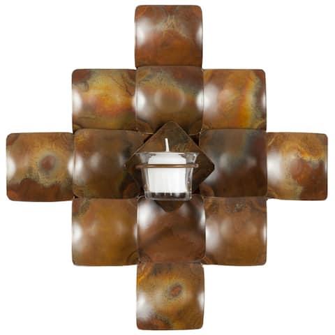 "SAFAVIEH Lighting Cross Candle Holder Wall Sconce - 11"" x 5.1"" x 11"""