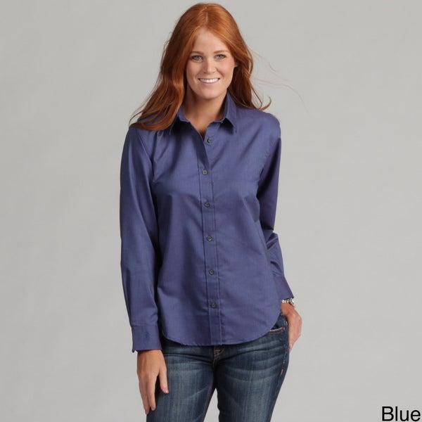 Bill Blass Ladies Color Rich Wrinkle Free Dress Shirt