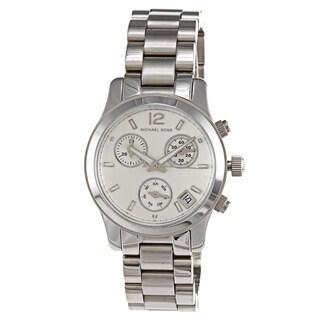 Michael Kors Women's MK5428 Runway Silvertone Watch
