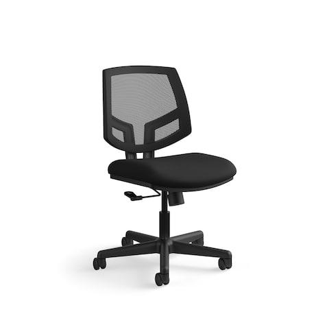 HON Volt Series Mesh Back Task Chair, Navy Fabric